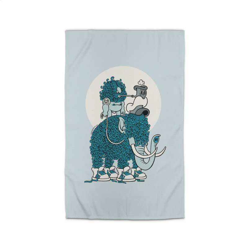Walking the mammoth Home Rug by cphposter's Artist Shop