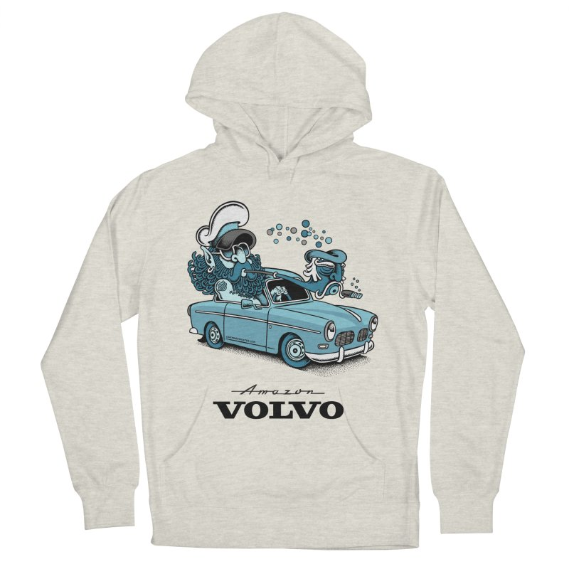 Volvo Amazon Women's Pullover Hoody by cphposter's Artist Shop