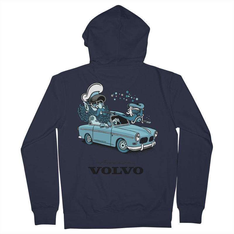 Volvo Amazon Women's Zip-Up Hoody by cphposter's Artist Shop