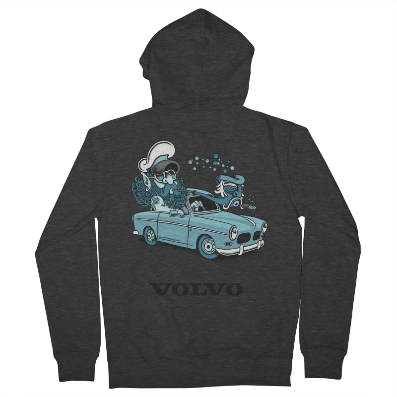 Volvo Amazon Men's Zip-Up Hoody by cphposter's Artist Shop