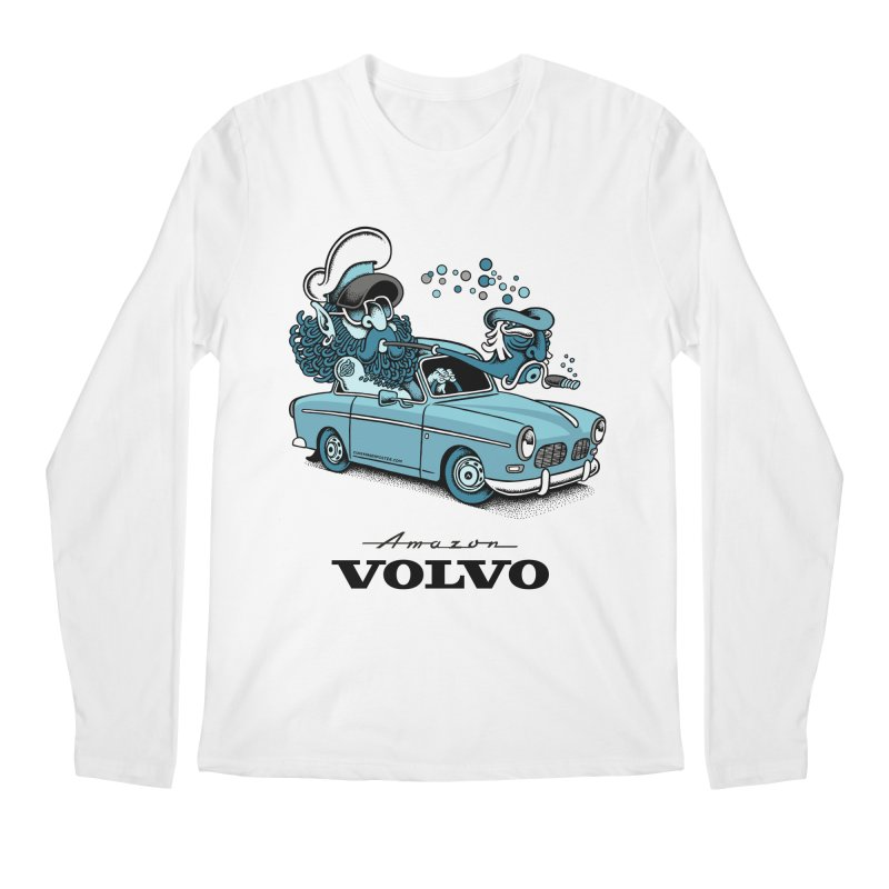 Volvo Amazon Men's Longsleeve T-Shirt by cphposter's Artist Shop