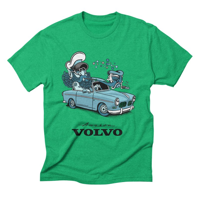 Volvo Amazon Men's Triblend T-Shirt by cphposter's Artist Shop