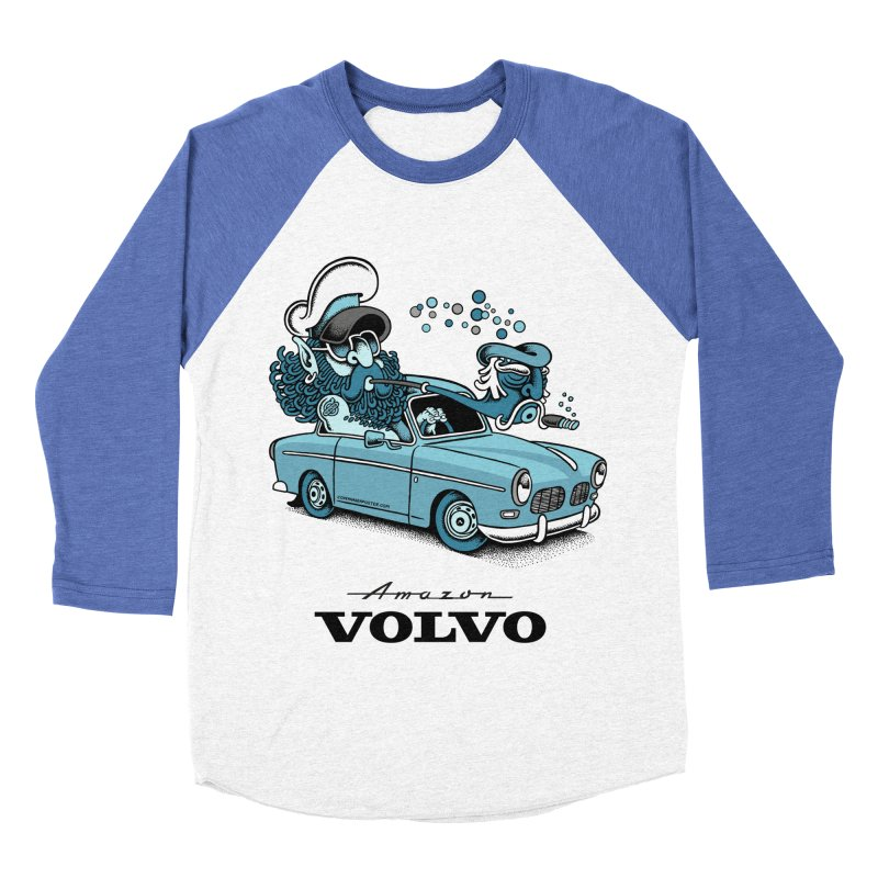 Volvo Amazon Women's Baseball Triblend T-Shirt by cphposter's Artist Shop