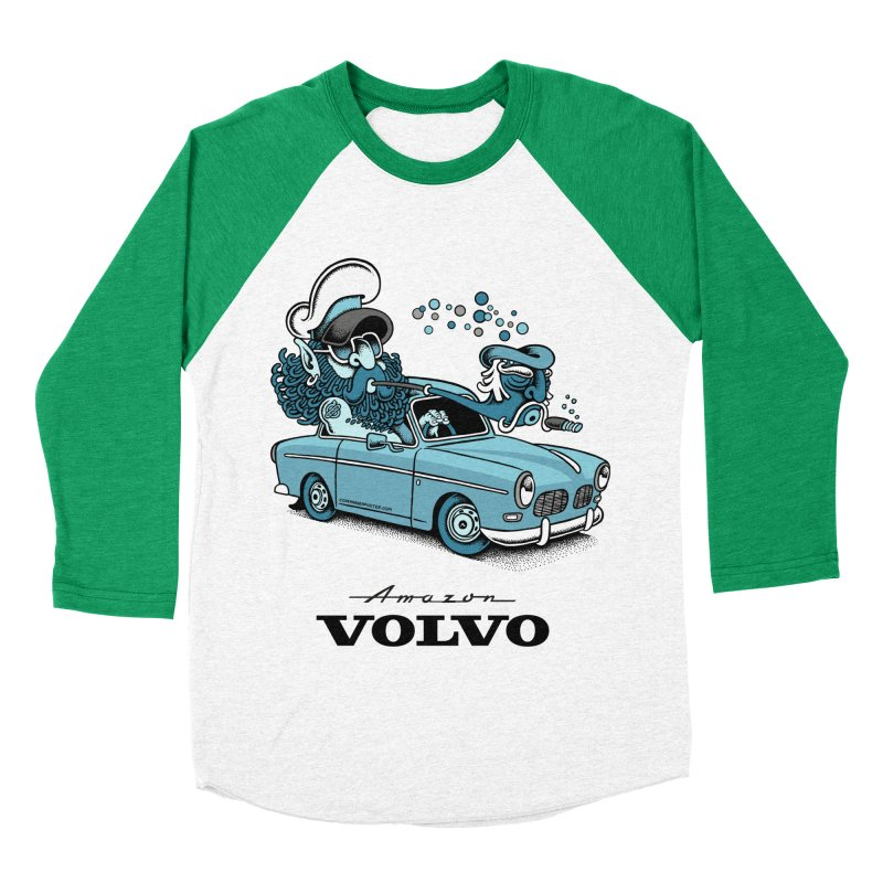 Volvo Amazon Men's Baseball Triblend T-Shirt by cphposter's Artist Shop