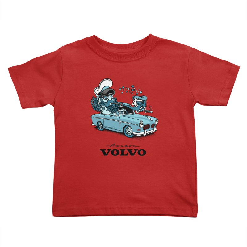 Volvo Amazon Kids Toddler T-Shirt by cphposter's Artist Shop