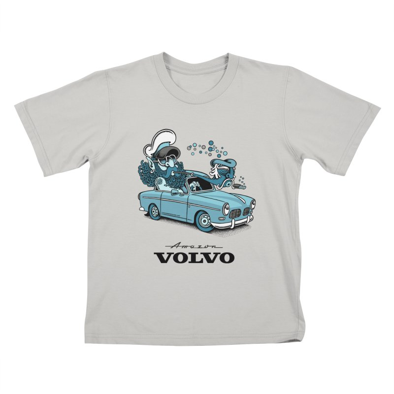 Volvo Amazon Kids T-shirt by cphposter's Artist Shop