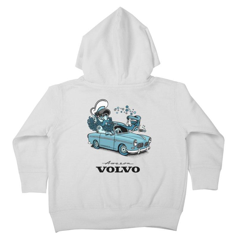 Volvo Amazon Kids Toddler Zip-Up Hoody by cphposter's Artist Shop