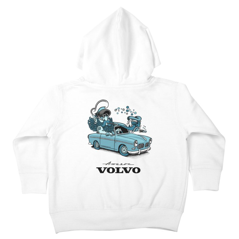 Volvo Amazon Kids Toddler Zip-Up Hoody by cphposter's Artist Shop