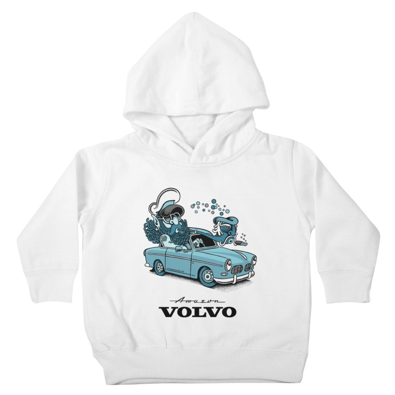 Volvo Amazon Kids Toddler Pullover Hoody by cphposter's Artist Shop