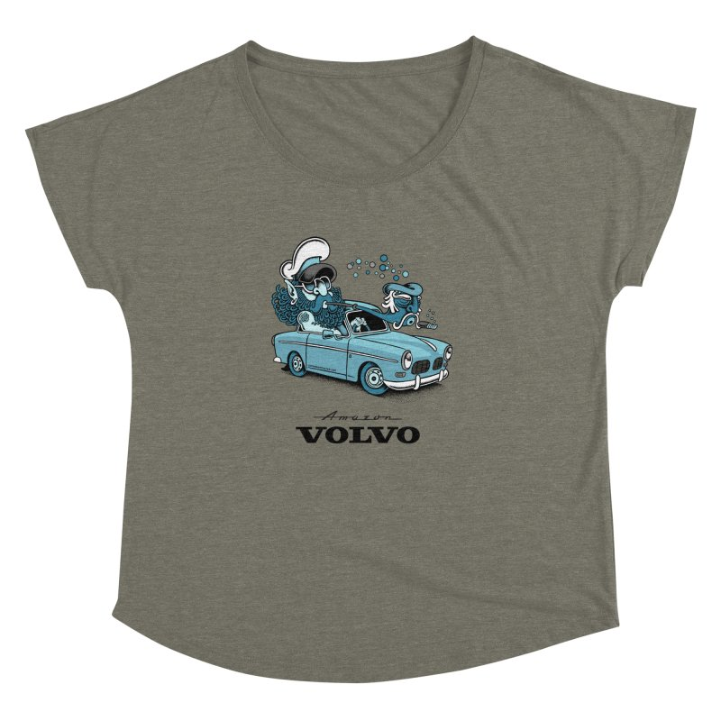 Volvo Amazon Women's Dolman by cphposter's Artist Shop