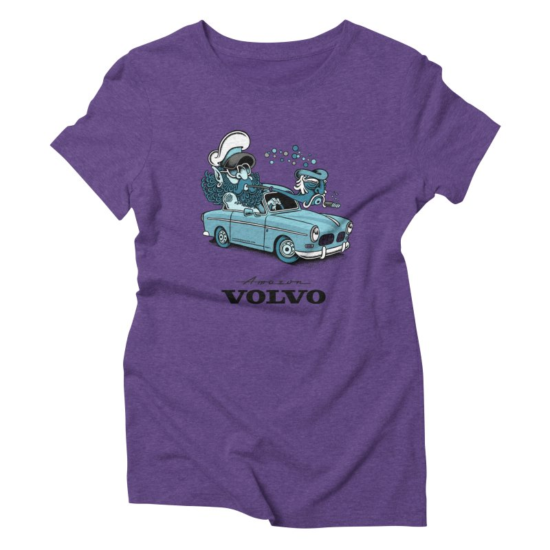 Volvo Amazon Women's Triblend T-shirt by cphposter's Artist Shop