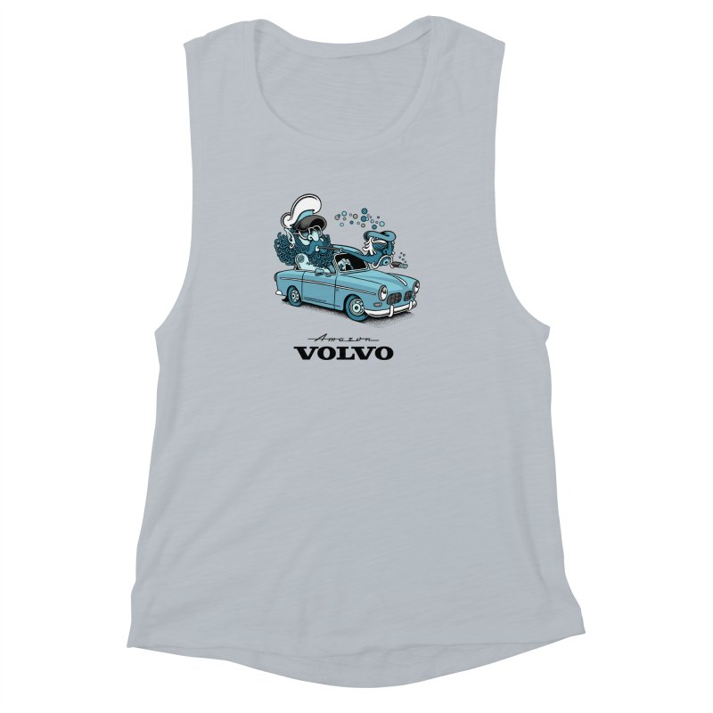 Volvo Amazon Women's Muscle Tank by cphposter's Artist Shop