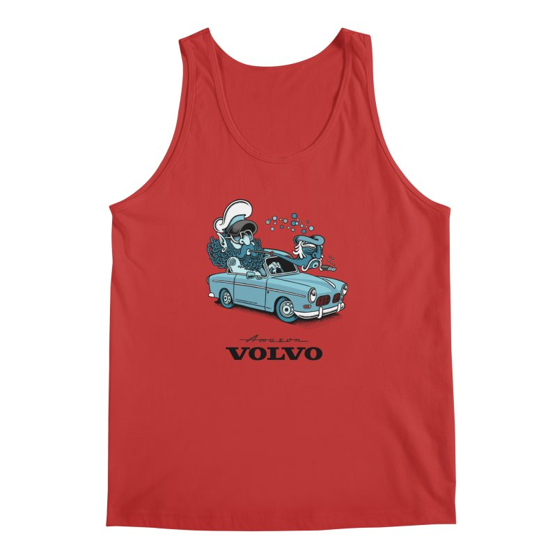 Volvo Amazon Men's Tank by cphposter's Artist Shop