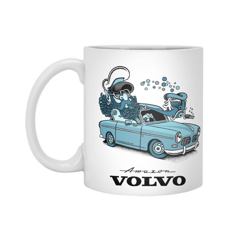 Volvo Amazon Accessories Mug by cphposter's Artist Shop