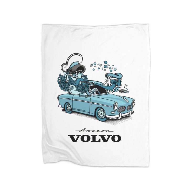 Volvo Amazon Home Blanket by cphposter's Artist Shop