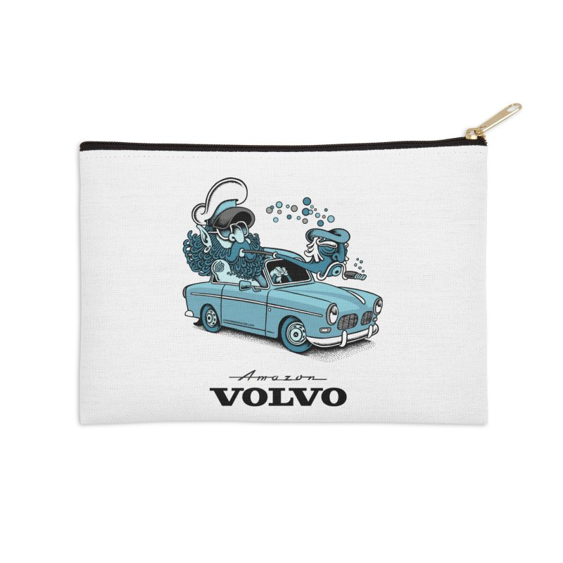 Volvo Amazon Accessories Zip Pouch by cphposter's Artist Shop