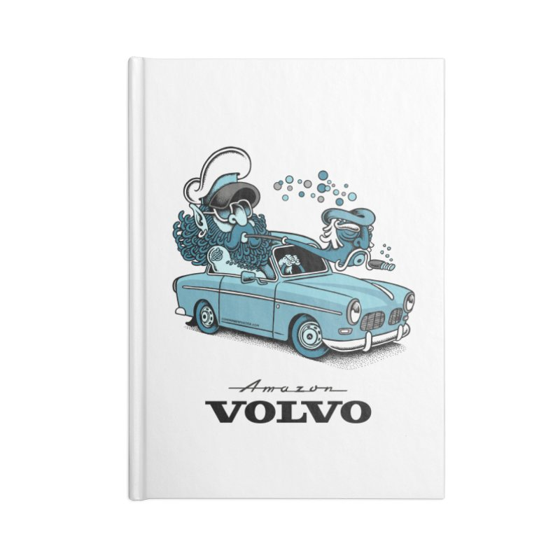 Volvo Amazon Accessories Notebook by cphposter's Artist Shop
