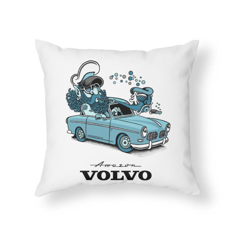 Volvo Amazon Home Throw Pillow by cphposter's Artist Shop
