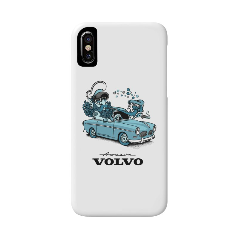 Volvo Amazon Accessories Phone Case by cphposter's Artist Shop