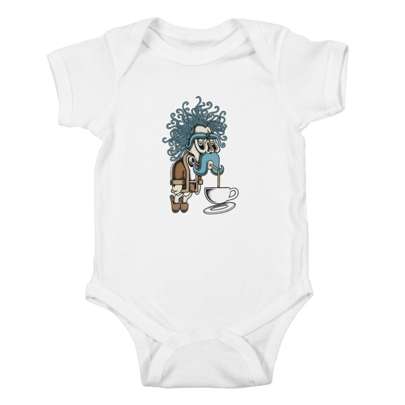 Monday Kids Baby Bodysuit by cphposter's Artist Shop