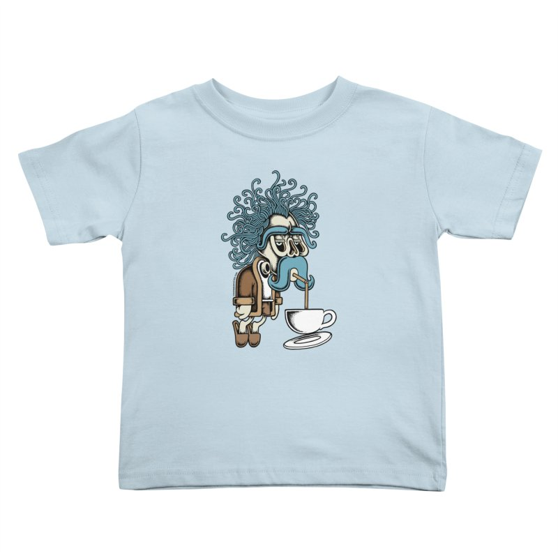 Monday Kids Toddler T-Shirt by cphposter's Artist Shop