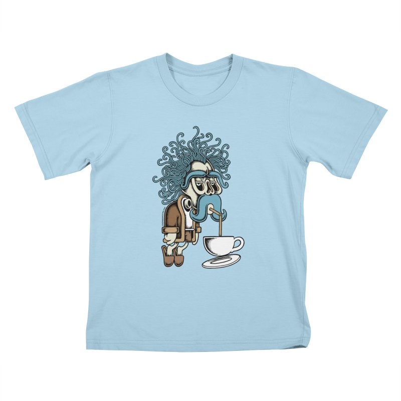 Monday Kids T-shirt by cphposter's Artist Shop
