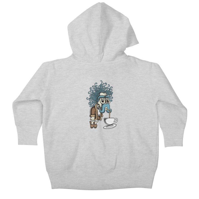Monday Kids Baby Zip-Up Hoody by cphposter's Artist Shop