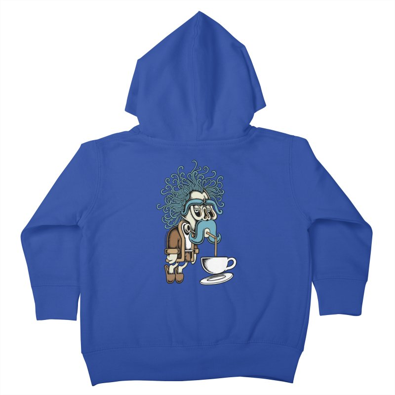 Monday Kids Toddler Zip-Up Hoody by cphposter's Artist Shop