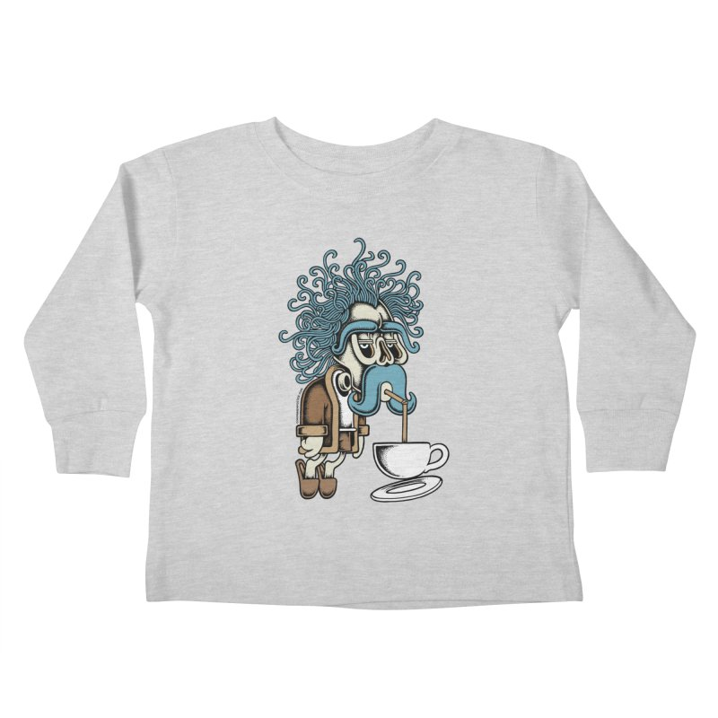 Monday Kids Toddler Longsleeve T-Shirt by cphposter's Artist Shop