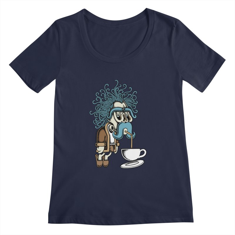 Monday Women's Scoopneck by cphposter's Artist Shop