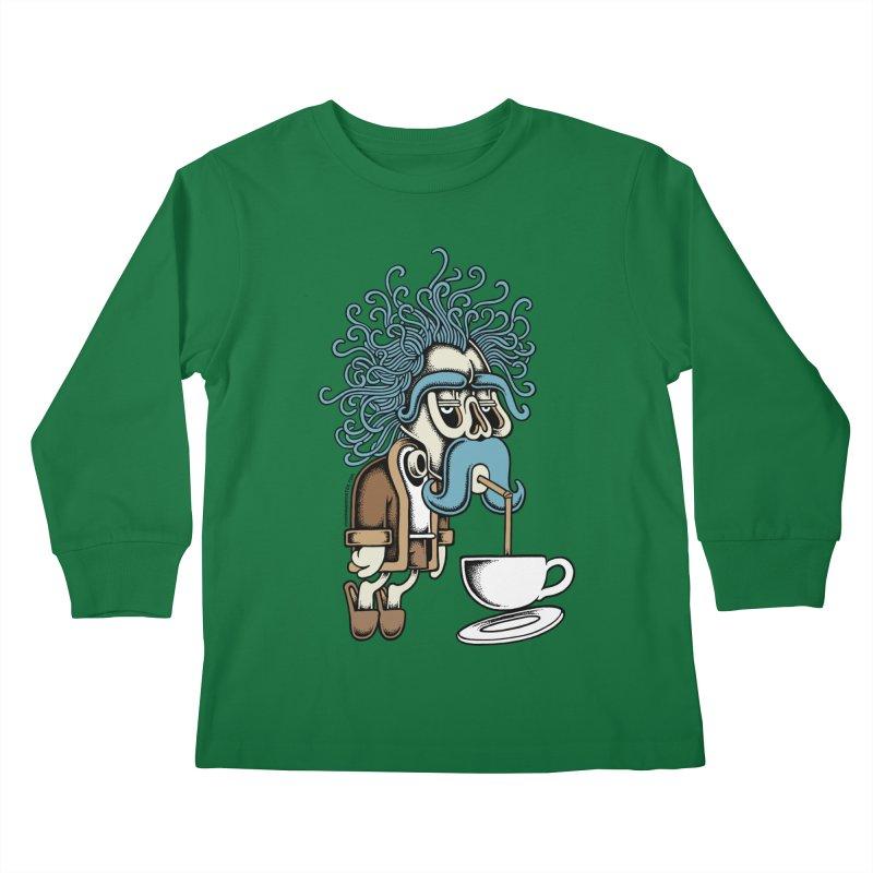 Monday Kids Longsleeve T-Shirt by cphposter's Artist Shop