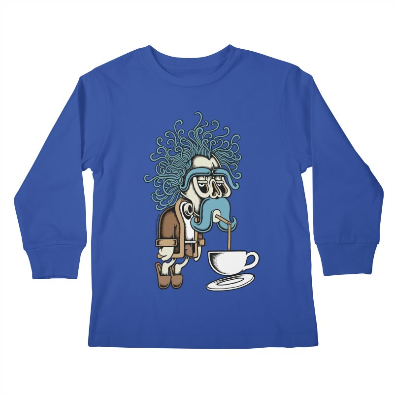 Monday Kids Longsleeve T-Shirt by cphposter's Artist Shop
