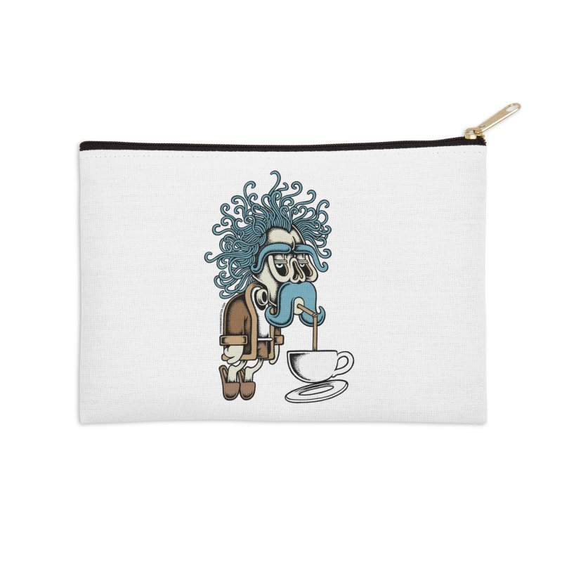 Monday Accessories Zip Pouch by cphposter's Artist Shop