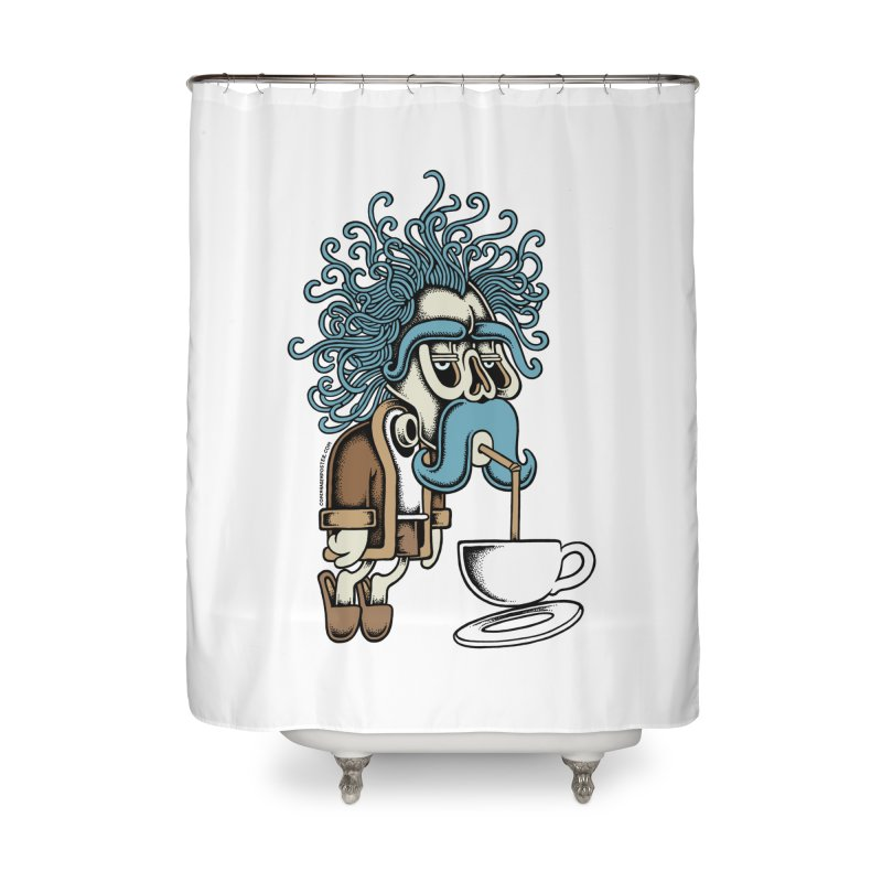 Monday Home Shower Curtain by cphposter's Artist Shop