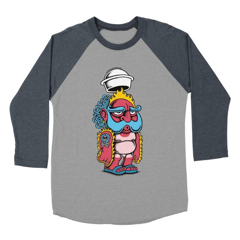 Sunburn Women's Baseball Triblend T-Shirt by cphposter's Artist Shop