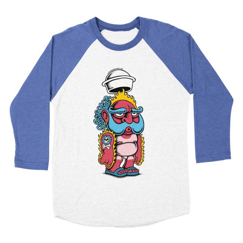 Sunburn Men's Baseball Triblend T-Shirt by cphposter's Artist Shop