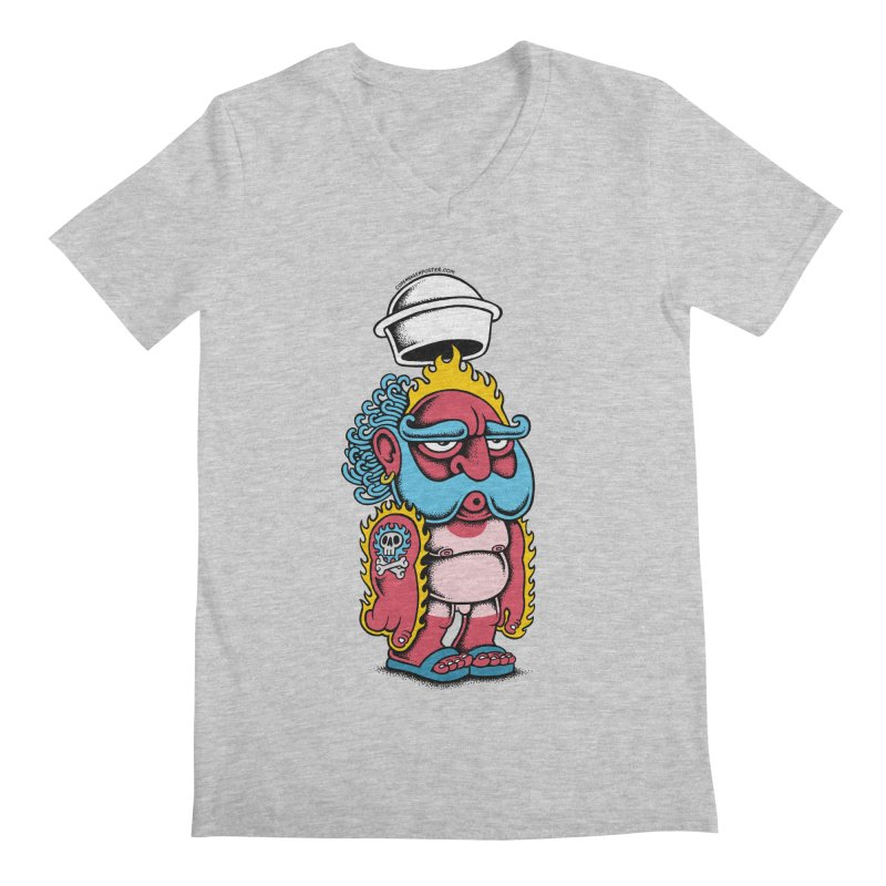 Sunburn Men's V-Neck by cphposter's Artist Shop