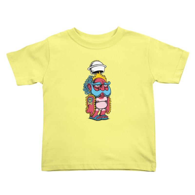 Sunburn Kids Toddler T-Shirt by cphposter's Artist Shop