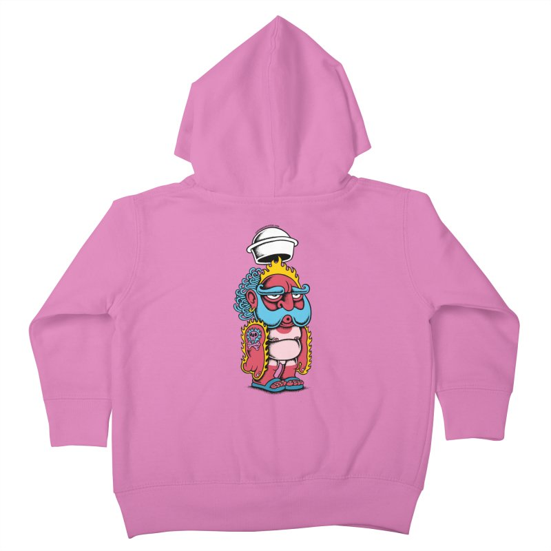 Sunburn Kids Toddler Zip-Up Hoody by cphposter's Artist Shop