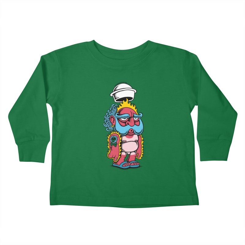 Sunburn Kids Toddler Longsleeve T-Shirt by cphposter's Artist Shop