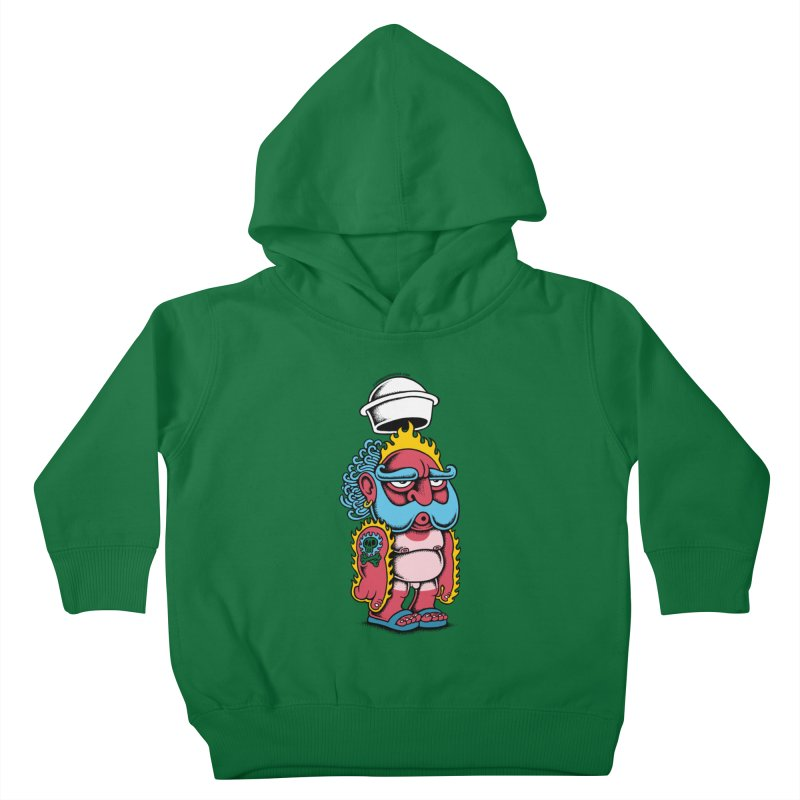 Sunburn Kids Toddler Pullover Hoody by cphposter's Artist Shop