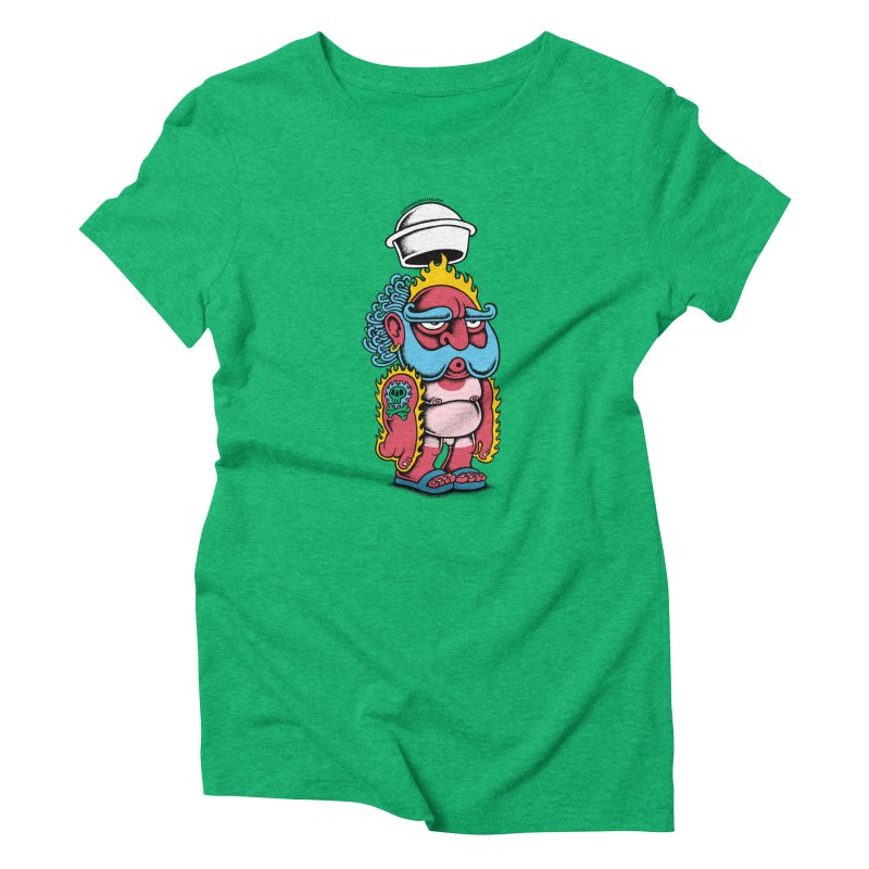 Sunburn Women's Triblend T-shirt by cphposter's Artist Shop