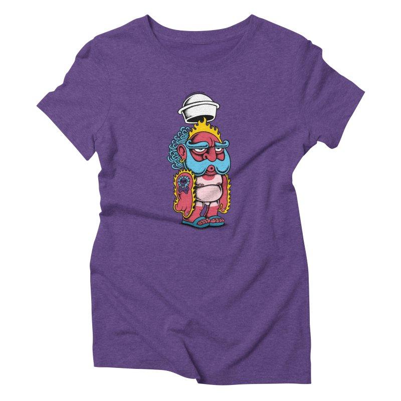 Sunburn Women's Triblend T-shirt by cphposter's Artist Shop