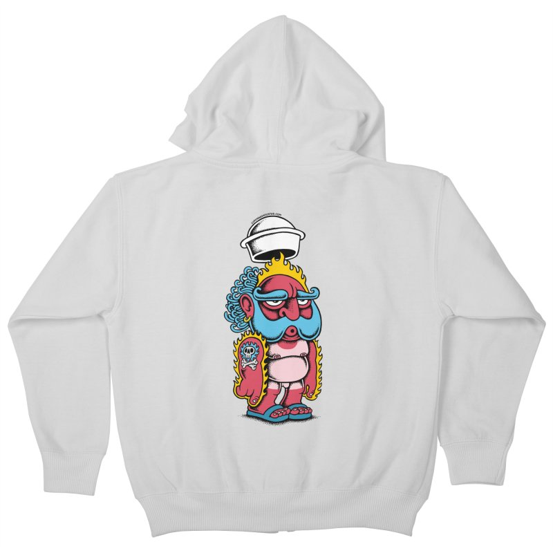 Sunburn Kids Zip-Up Hoody by cphposter's Artist Shop