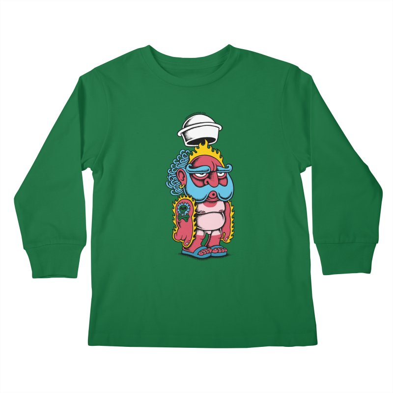 Sunburn Kids Longsleeve T-Shirt by cphposter's Artist Shop