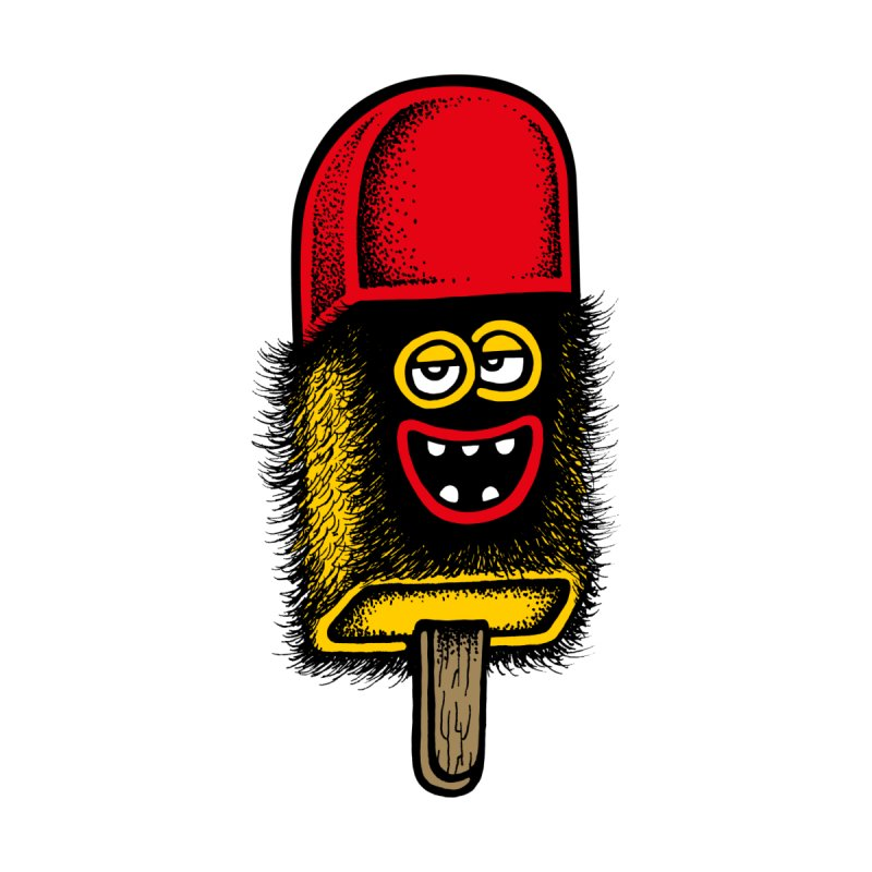 Hairy Ice Lolly by cphposter's Artist Shop