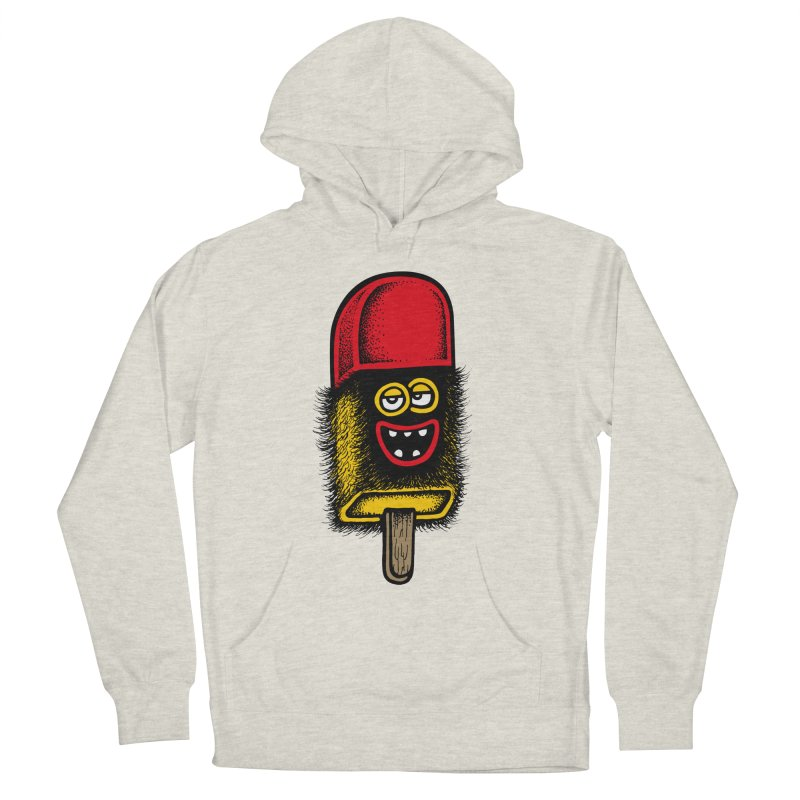 Hairy Ice Lolly Women's Pullover Hoody by cphposter's Artist Shop