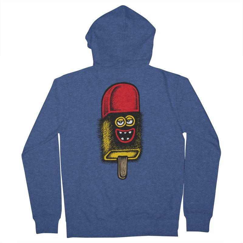 Hairy Ice Lolly Women's Zip-Up Hoody by cphposter's Artist Shop