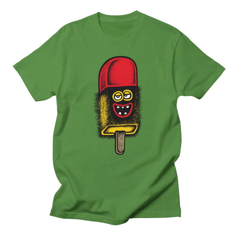 Hairy Ice Lolly Men's T-Shirt by cphposter's Artist Shop