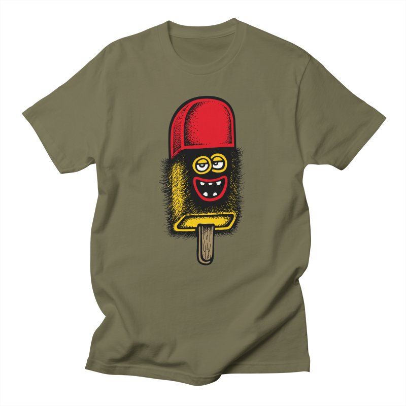 Hairy Ice Lolly Women's Unisex T-Shirt by cphposter's Artist Shop